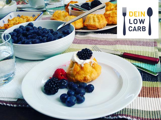 Low Carb Biskuitteig für Obstboden oder Muffins
