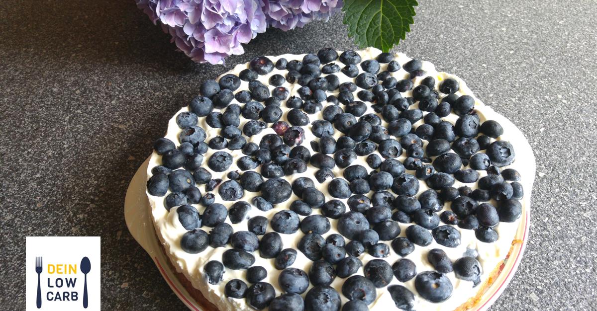 Heidelbeeren-Mascarpone-Torte
