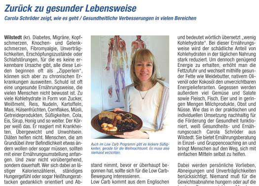 Tarmstedter Magazin-Carola Schröder