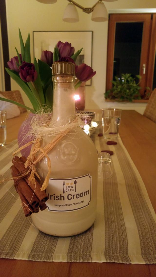 Iris Cream Low Carb