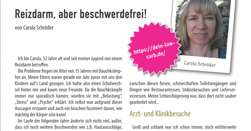 Low Carb-LCHF-Magazin