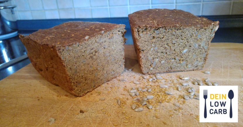 Low Carb Brot mit Hefe